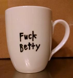 Betty's mug